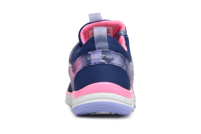Chaussures de sport Skechers Diamond Runner Bleu vue droite