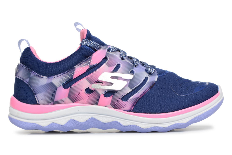 Chaussures de sport Skechers Diamond Runner Bleu vue derrière
