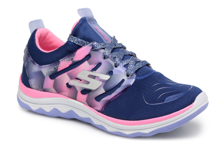 Chaussures de sport Skechers Diamond Runner Bleu vue détail/paire