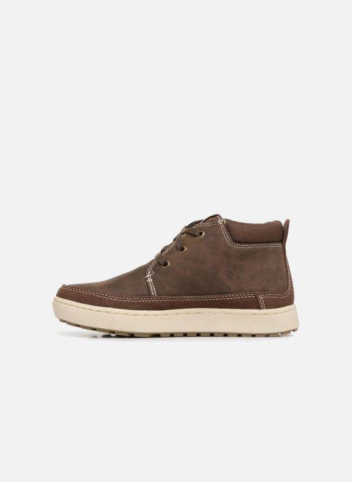 Chaussures à lacets Skechers Direct Pulse Marron vue face