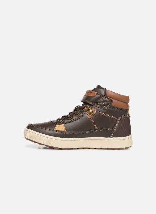 Zapatos con cordones Skechers Direct Pulse Marrón vista de frente