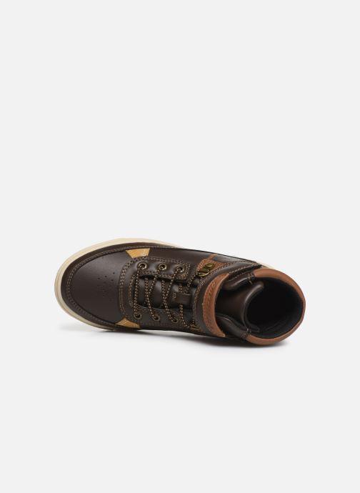 Chaussures à lacets Skechers Direct Pulse Marron vue gauche
