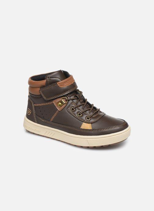 Snøresko Skechers Direct Pulse Brun detaljeret billede af skoene