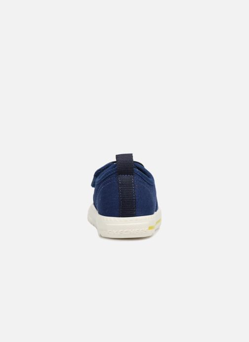Baskets Skechers Lil Lad - Taxen Bleu vue droite