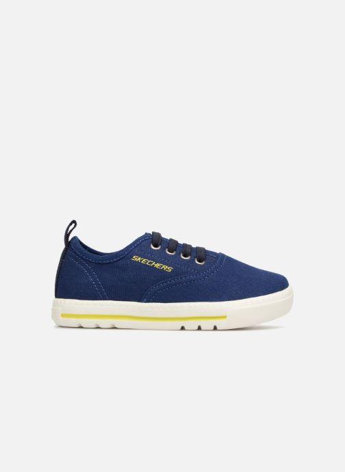 Baskets Skechers Lil Lad - Taxen Bleu vue derrière