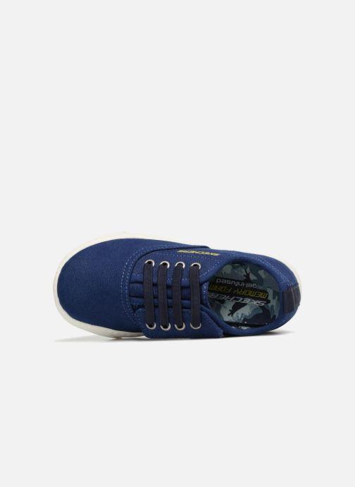 Baskets Skechers Lil Lad - Taxen Bleu vue gauche