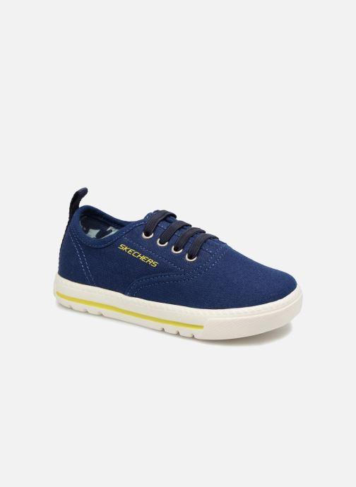 Baskets Skechers Lil Lad - Taxen Bleu vue détail/paire