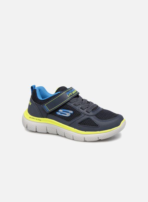 0212cf29aa554 Chaussures de sport Skechers Flex Advantage 2.0 E Noir vue détail paire