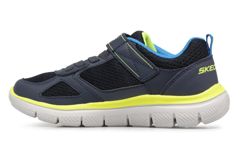 Sportschuhe Skechers Flex Advantage 2.0 E schwarz ansicht von vorne