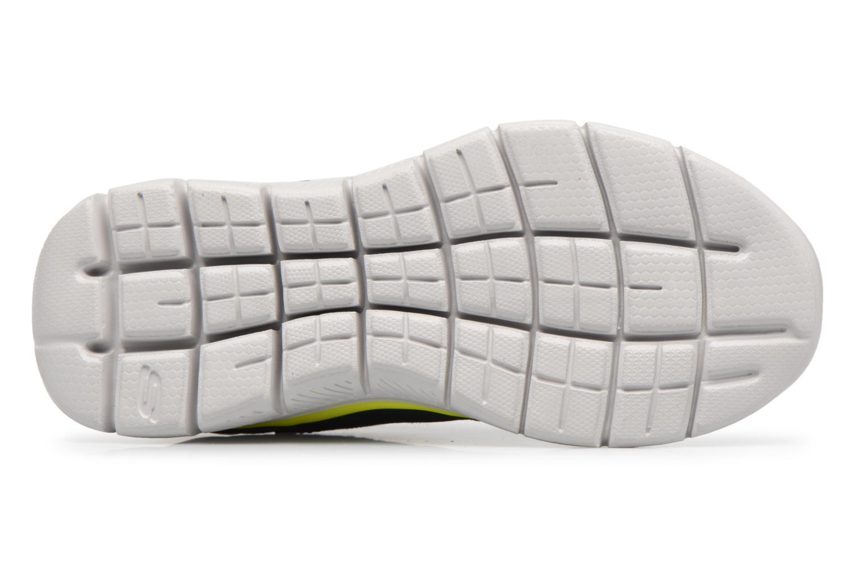 Sportschuhe Skechers Flex Advantage 2.0 E schwarz ansicht von oben