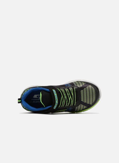 Sneakers Skechers Erupters II Lava Waves Nero immagine sinistra