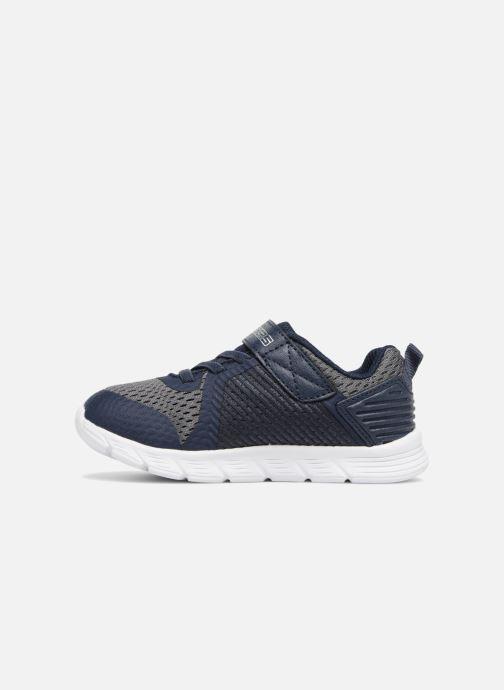 Sportschoenen Skechers Comfy Flex Hyper Stride Blauw voorkant