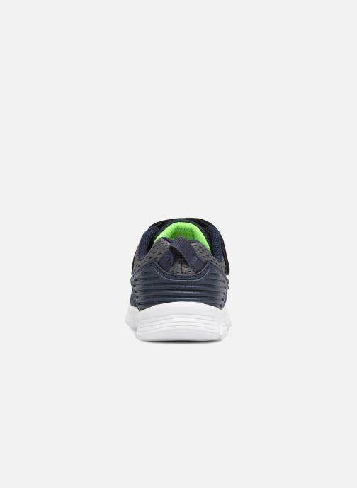 Chaussures de sport Skechers Comfy Flex Hyper Stride Bleu vue droite