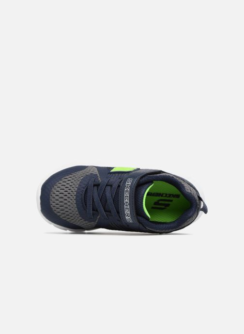 Sportschoenen Skechers Comfy Flex Hyper Stride Blauw links