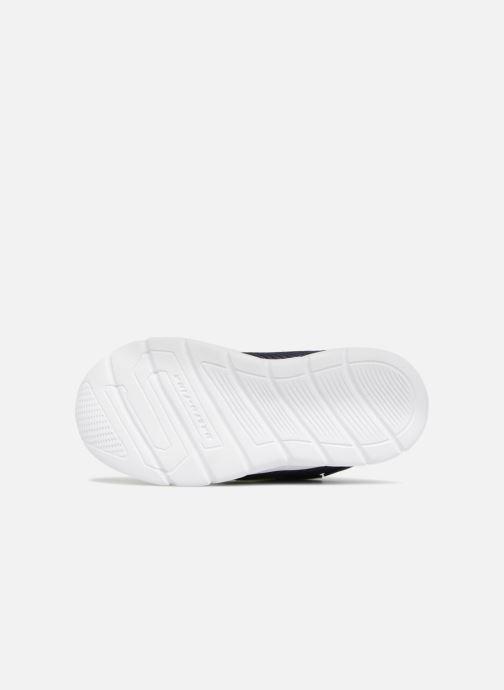 Chaussures de sport Skechers Comfy Flex Hyper Stride Bleu vue haut
