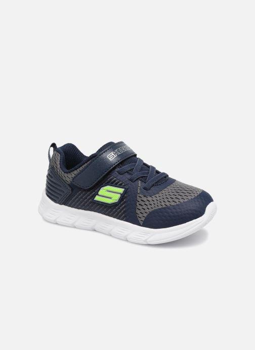 Chaussures de sport Skechers Comfy Flex Hyper Stride Bleu vue détail/paire