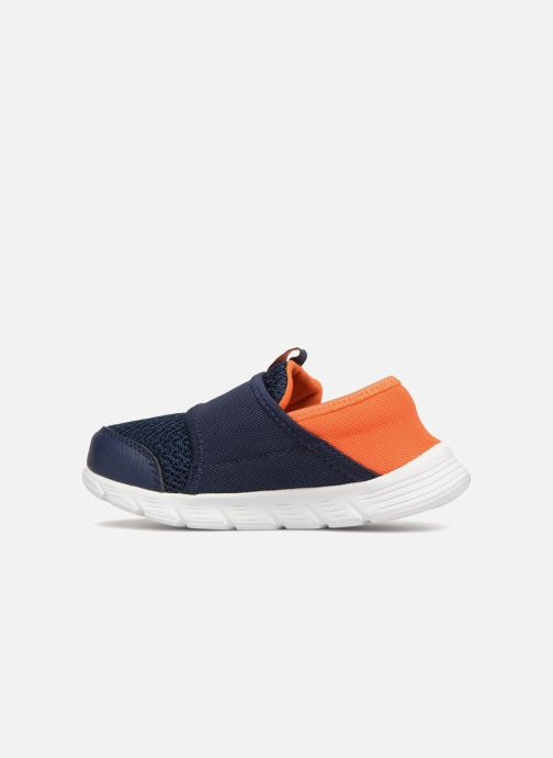 Baskets Skechers Comfy Flex Bleu vue face