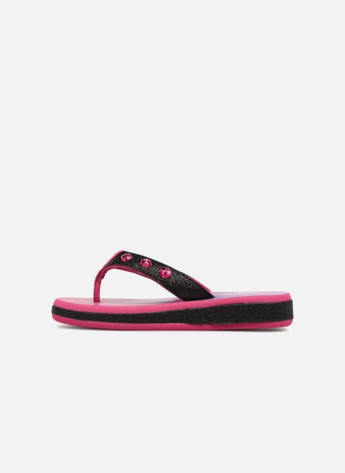 Tongs Skechers Sunshines Beach Chic Rose vue face