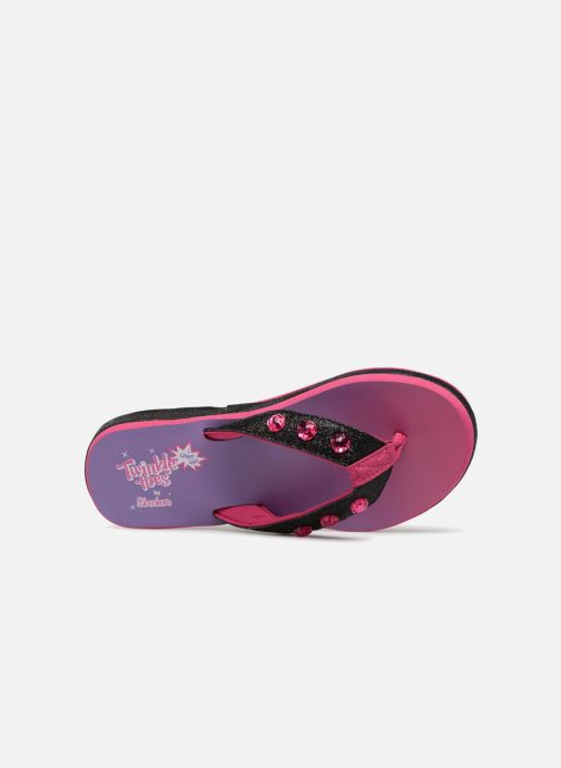 Tongs Skechers Sunshines Beach Chic Rose vue gauche