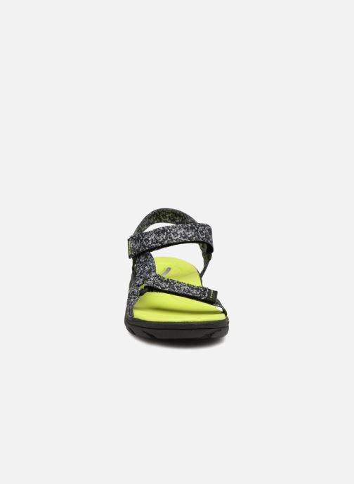 Sandales et nu-pieds Skechers Supreme Radion Noir vue portées chaussures