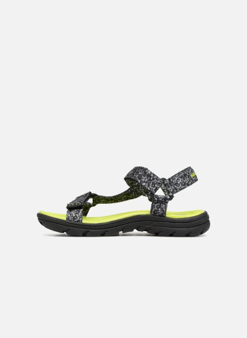 Sandales et nu-pieds Skechers Supreme Radion Noir vue face