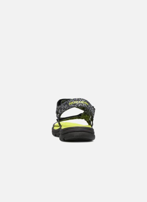 Sandales et nu-pieds Skechers Supreme Radion Noir vue droite