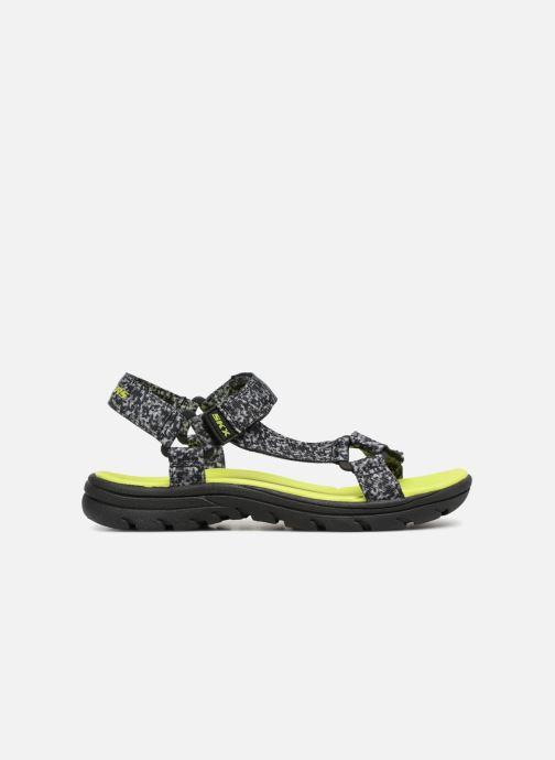 Sandales et nu-pieds Skechers Supreme Radion Noir vue derrière