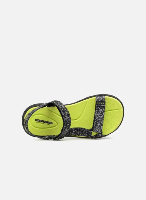 Sandales et nu-pieds Skechers Supreme Radion Noir vue gauche
