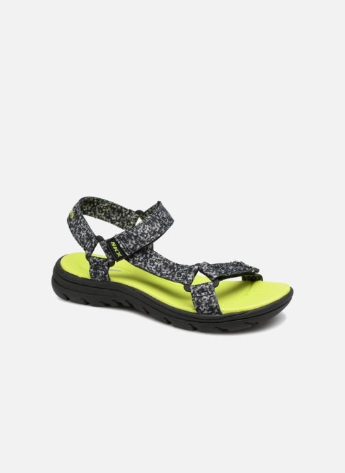 Sandales et nu-pieds Skechers Supreme Radion Noir vue détail/paire