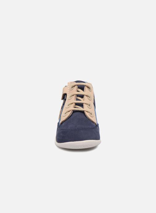 Bottines et boots Kickers Bigou Bleu vue portées chaussures