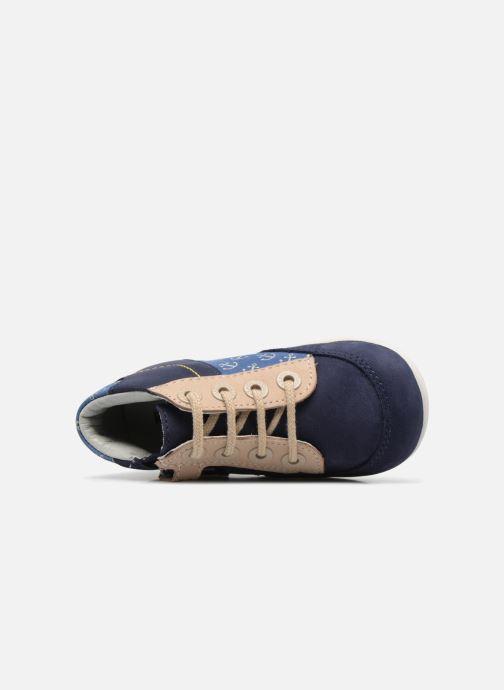 Bottines et boots Kickers Bigou Bleu vue gauche