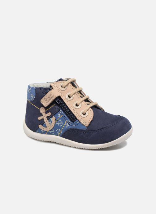Bottines et boots Kickers Bigou Bleu vue détail/paire
