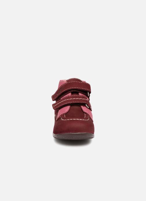 Bottines et boots Kickers Bonkro Bordeaux vue portées chaussures
