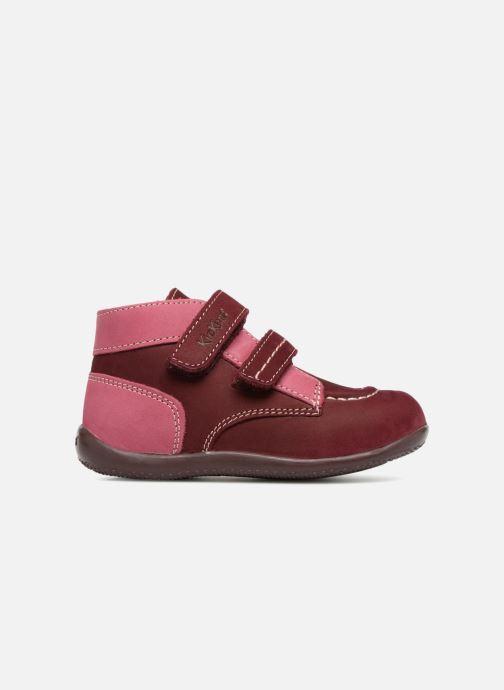 Bottines et boots Kickers Bonkro Bordeaux vue derrière