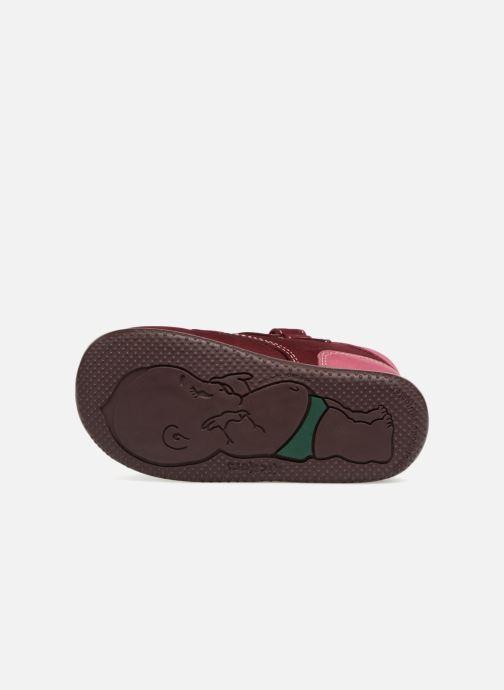 Bottines et boots Kickers Bonkro Bordeaux vue haut
