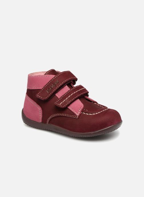 Bottines et boots Kickers Bonkro Bordeaux vue détail/paire