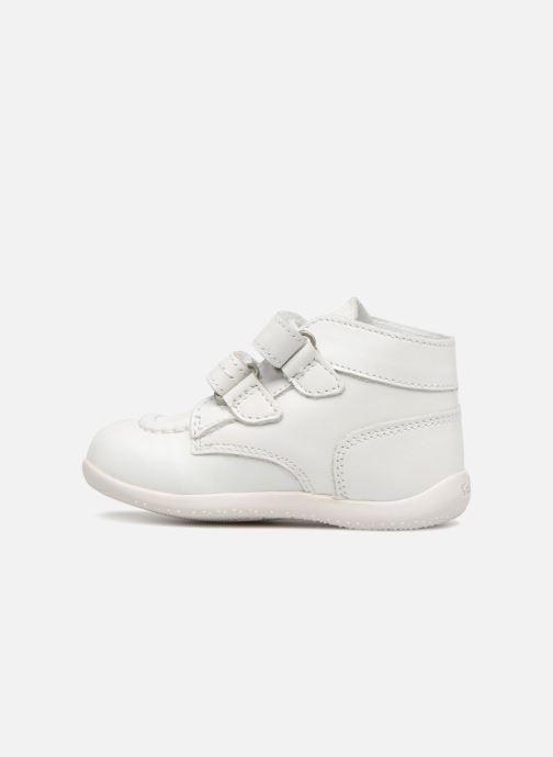 Bottines et boots Kickers Bonkro Blanc vue face