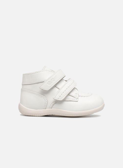 Bottines et boots Kickers Bonkro Blanc vue derrière