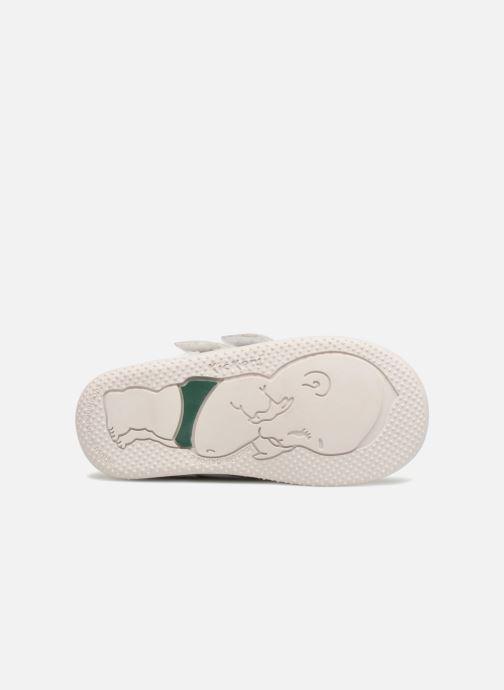 Bottines et boots Kickers Bonkro Blanc vue haut