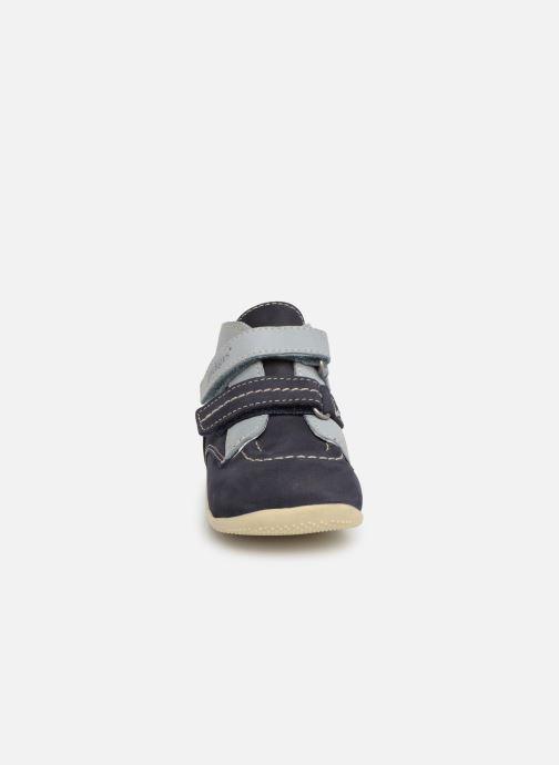 Bottines et boots Kickers Bonkro Bleu vue portées chaussures