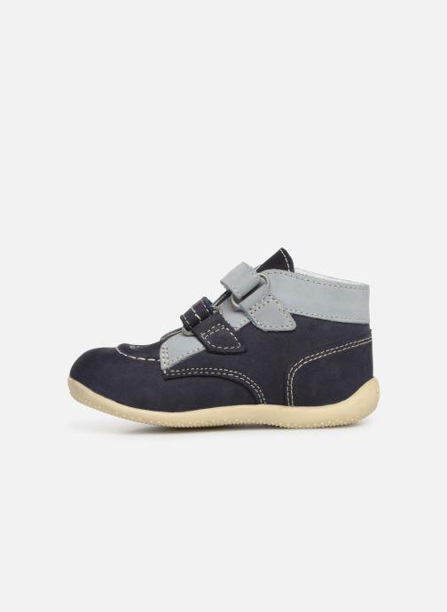 Stiefeletten & Boots Kickers Bonkro blau ansicht von vorne