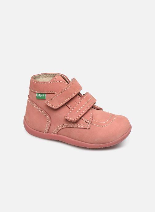 Boots en enkellaarsjes Kickers Bonkro Roze detail