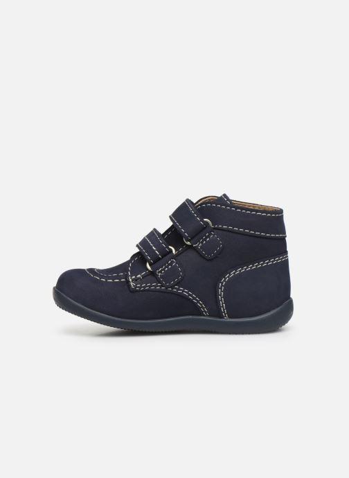 Bottines et boots Kickers Bonkro Bleu vue face