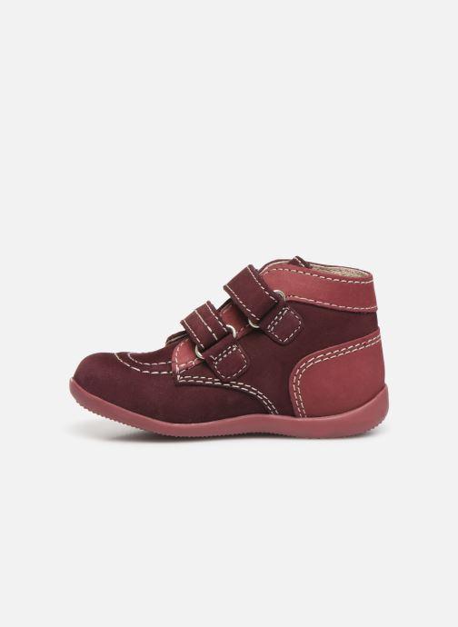Bottines et boots Kickers Bonkro Violet vue face