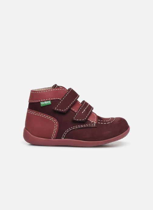 Bottines et boots Kickers Bonkro Violet vue derrière