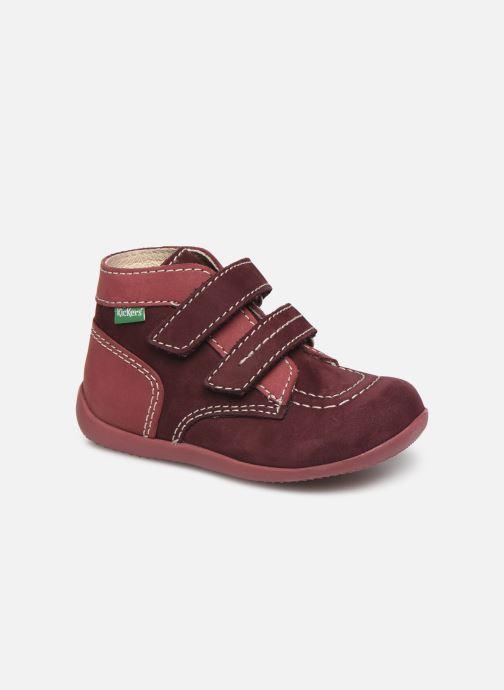 Bottines et boots Kickers Bonkro Violet vue détail/paire