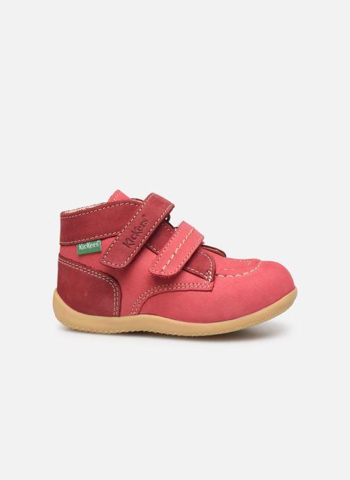 Boots en enkellaarsjes Kickers Bonkro Roze achterkant