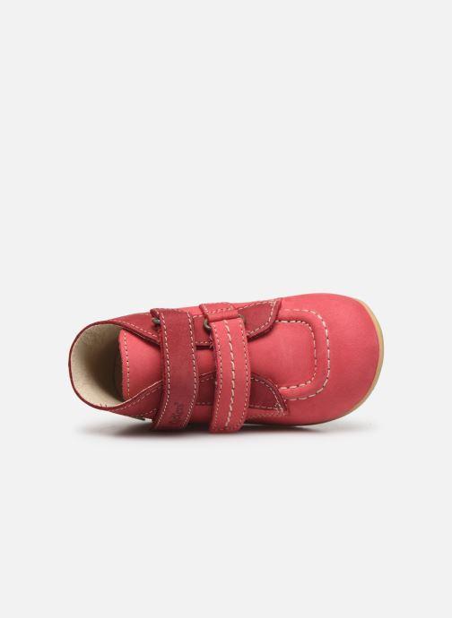 Boots en enkellaarsjes Kickers Bonkro Roze links