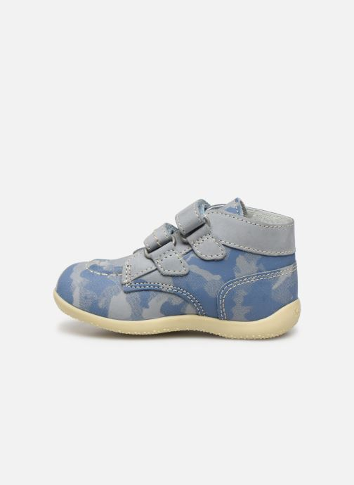 Boots en enkellaarsjes Kickers Bonkro Blauw voorkant