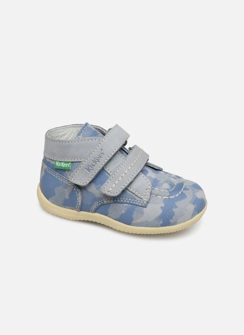 Boots en enkellaarsjes Kickers Bonkro Blauw detail